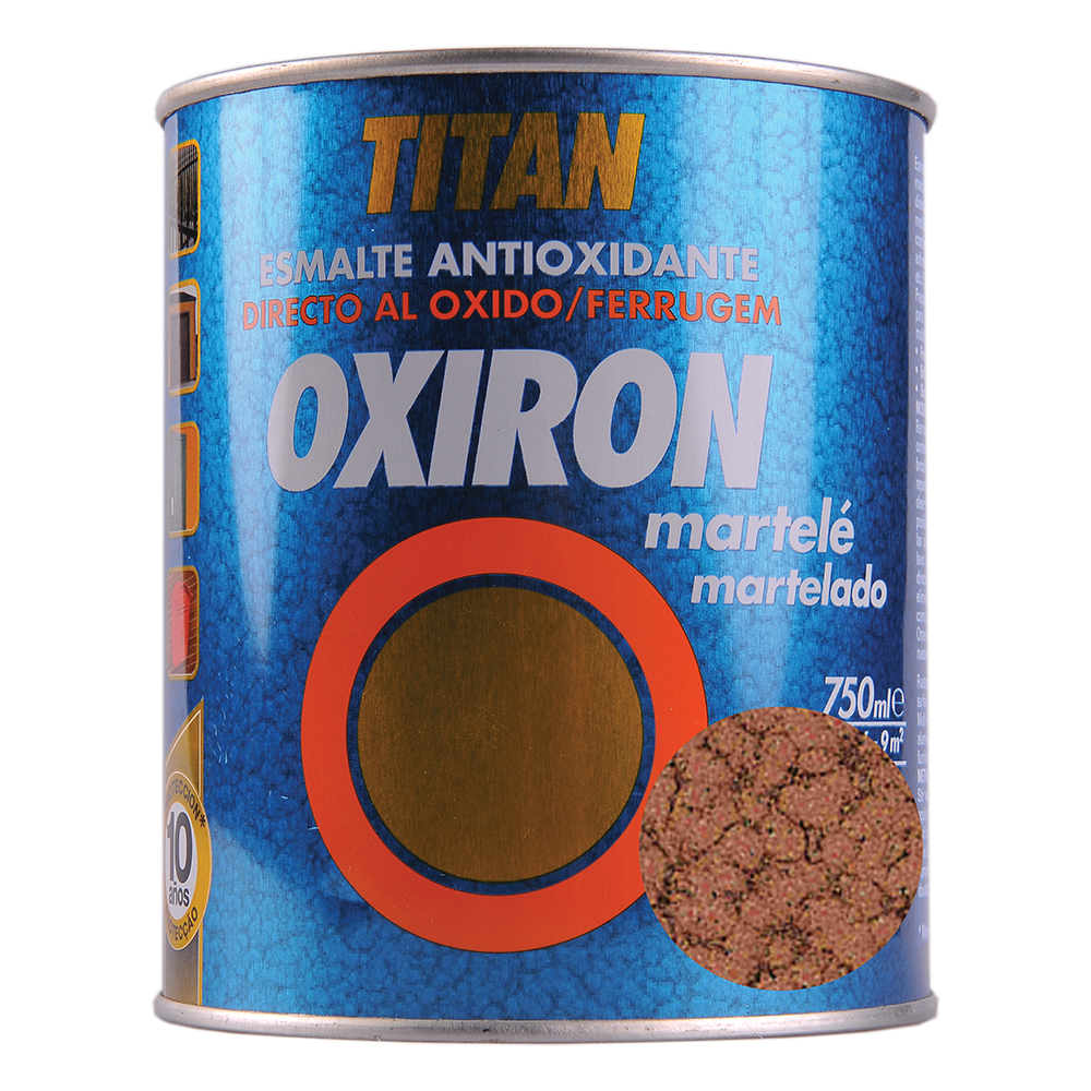 Email metal Titan Oxiron, lovitura de ciocan, cupru, interior/exterior/, 0,75 l