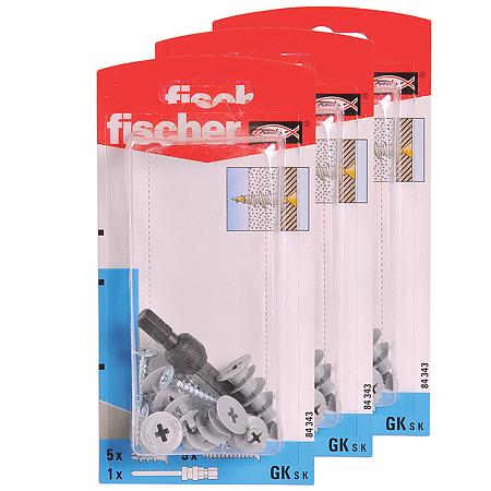 Diblu cu surub pentru gips carton si Antrenor, Ø 4,5mm, L 35 mm, 5 buc