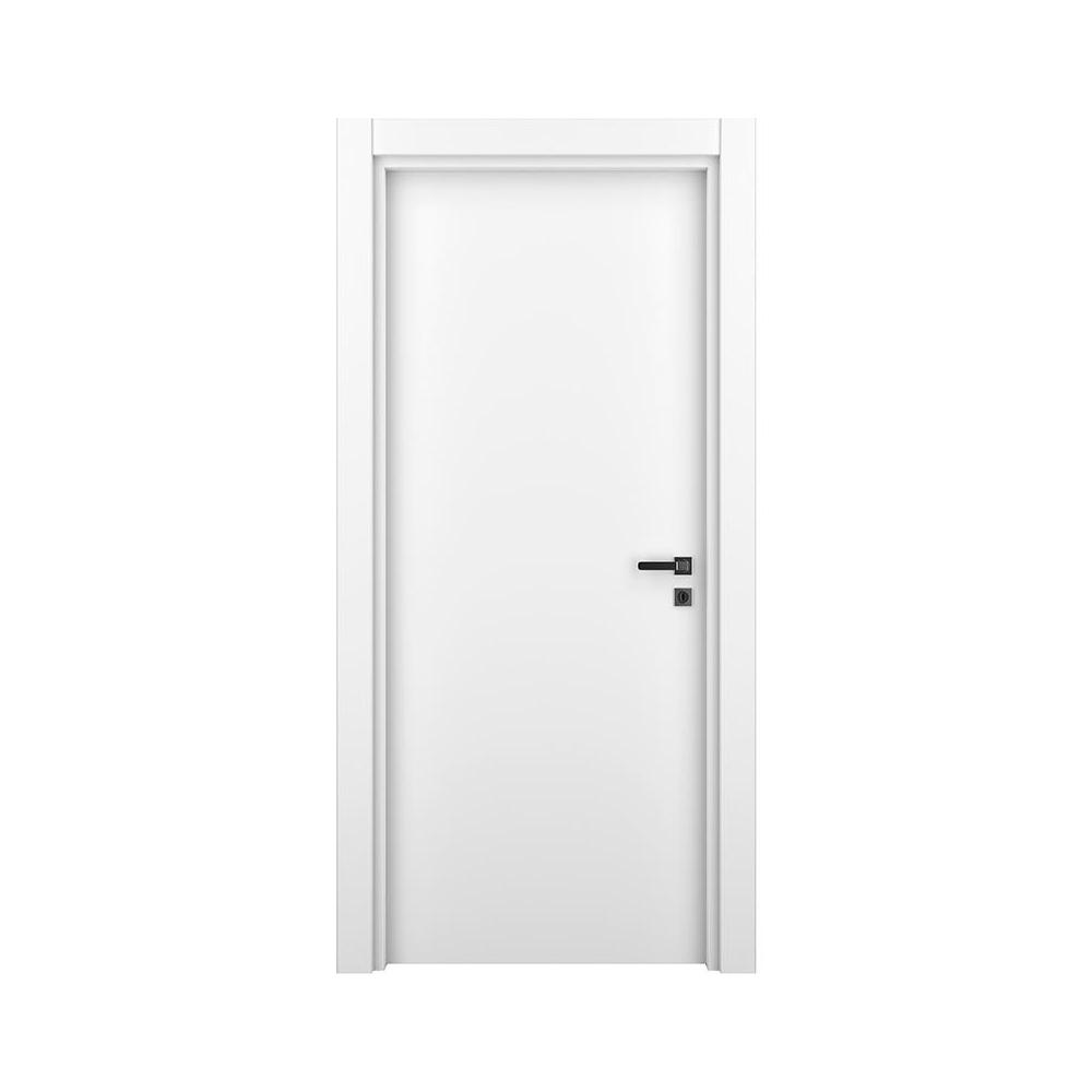 Usa de  interior plina Variodor Natural White, 198 x 70 cm, alb, stanga