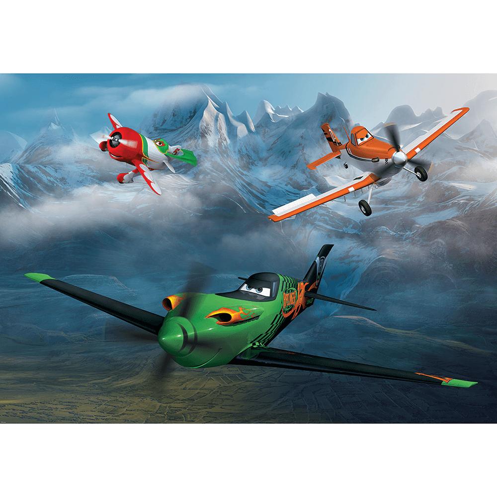 Fototapet duplex Disney Planes, 254 x 184 cm imagine MatHaus.ro