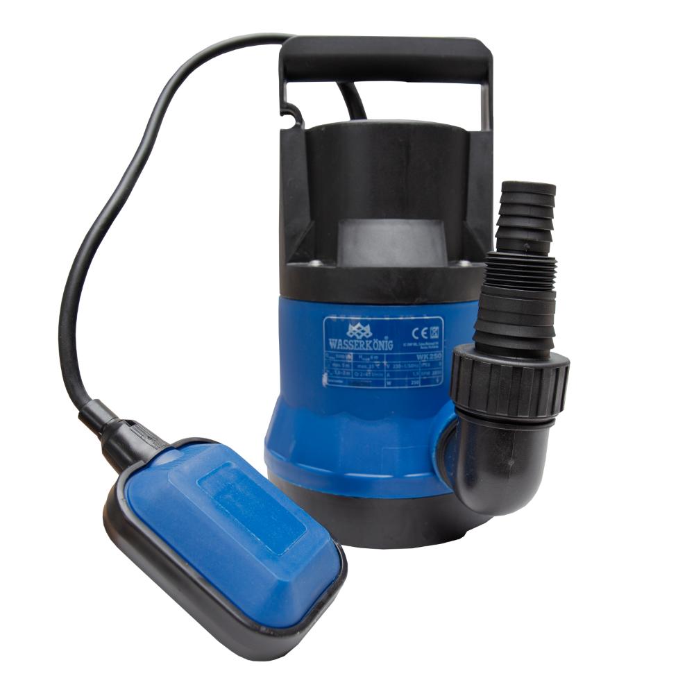 Pompa sumbersibila ape curate Wasserkonig 250W, 92 l/min, H refulare 6 m, particule 5 mm imagine MatHaus.ro