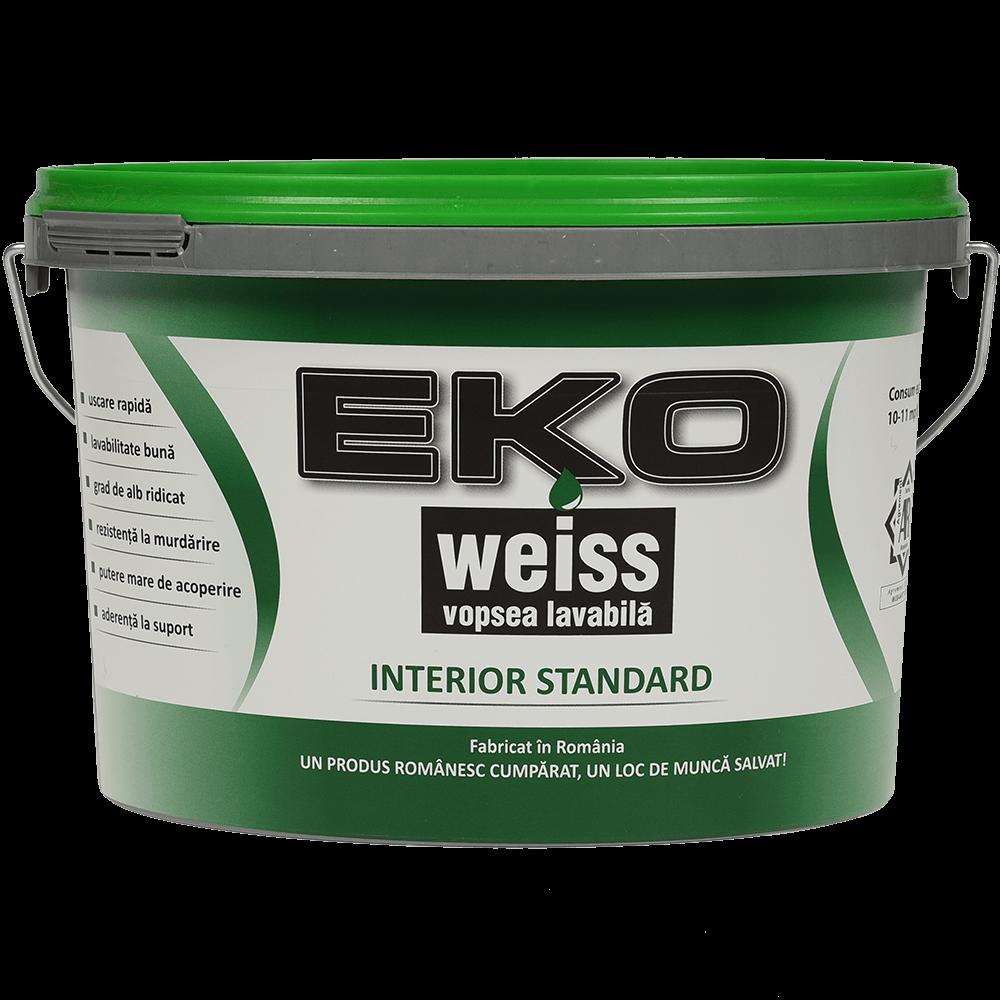 Vopsea lavabila interior Eko Weiss Standard, 2,5 l mathaus 2021