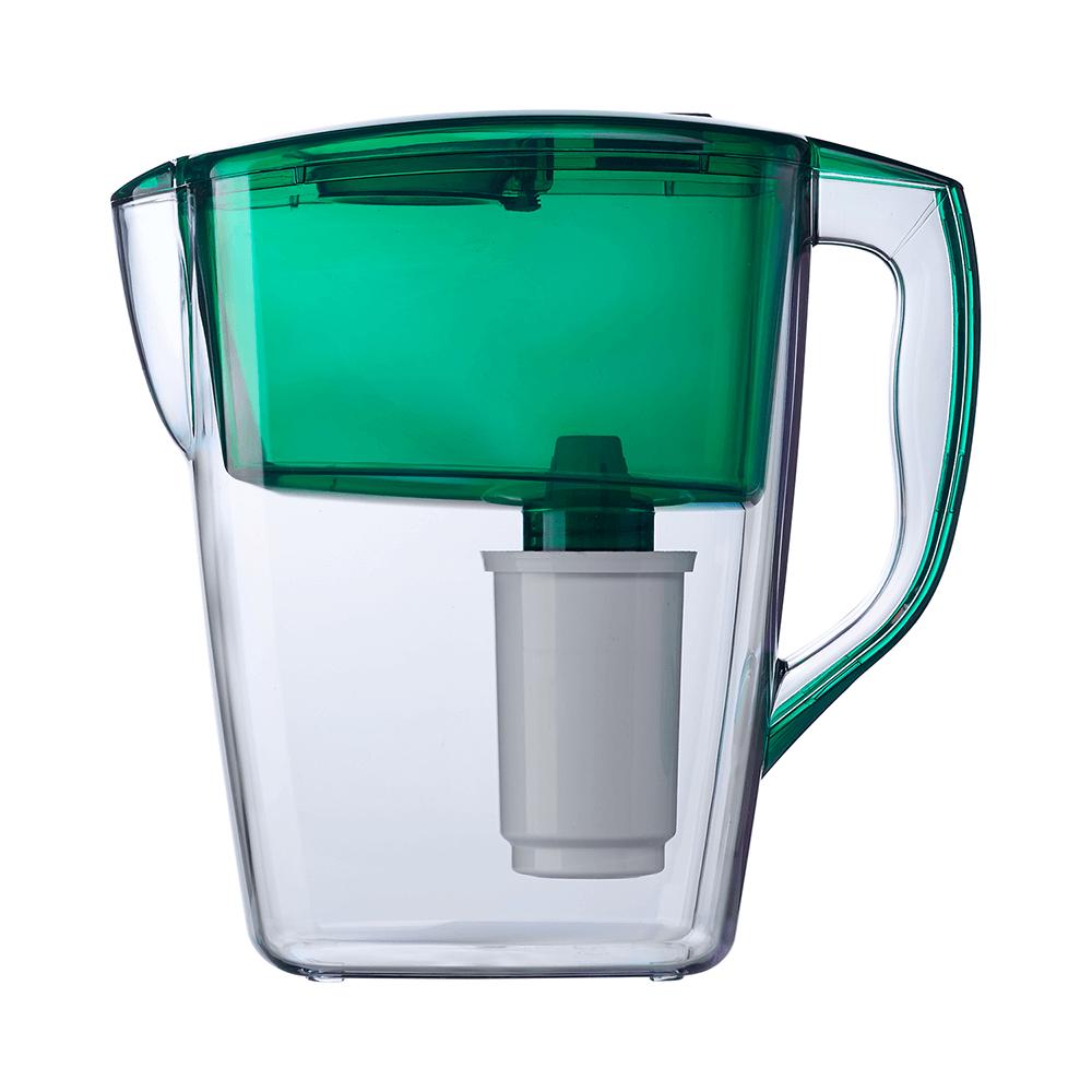 Cana filtranta Geyser Hercules, plastic, verde, argint activ, 4l mathaus 2021