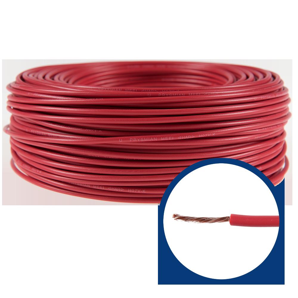 Conductor electric MYF / H07V-K 1,5 mmp rosu imagine 2021 mathaus