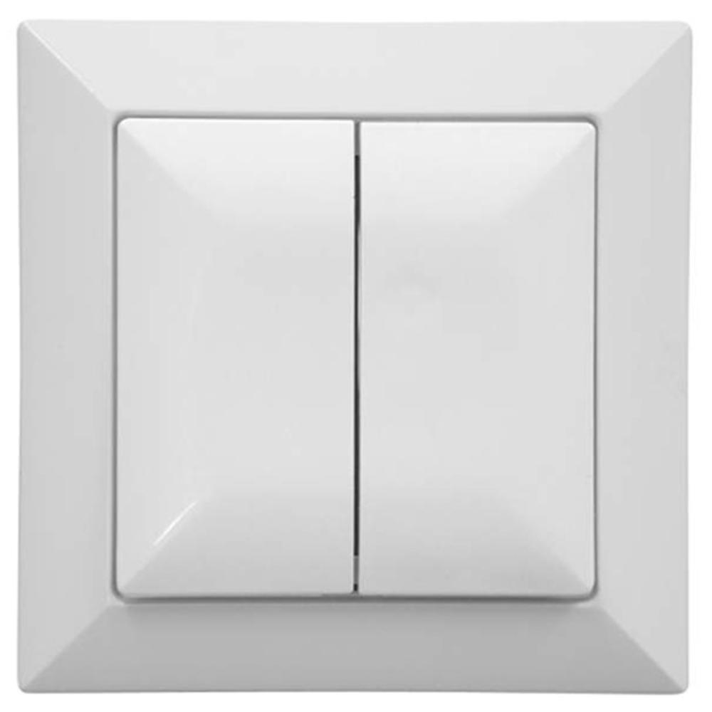 Intrerupator iluminat, IP20, 2500 W, alb perla