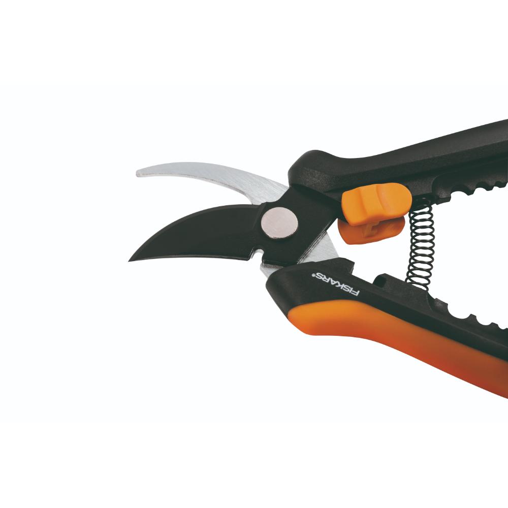 Foarfeca flori Fiskars Solid SP14, 240 mm, negru, portocaliu imagine 2021 mathaus