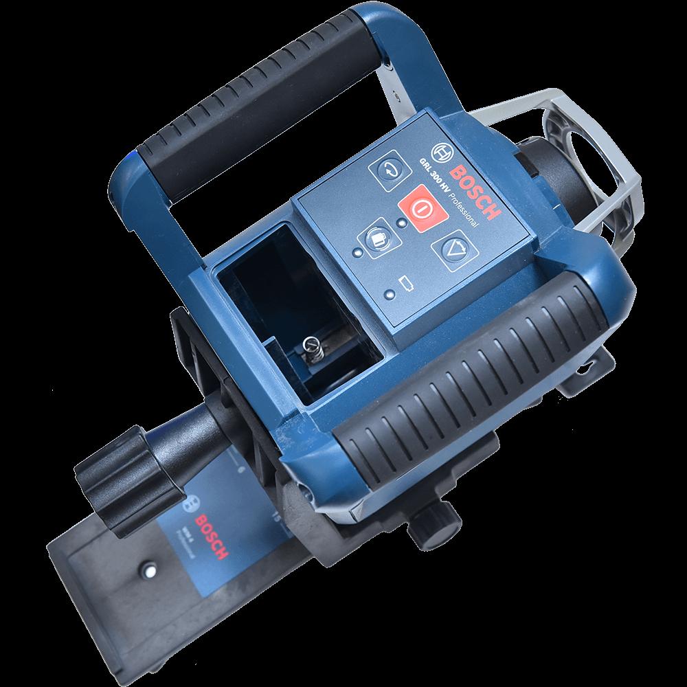 Nivela cu laser si linii Bosch Professional GRL 300 HV, 60 m, autonivelare, stativ