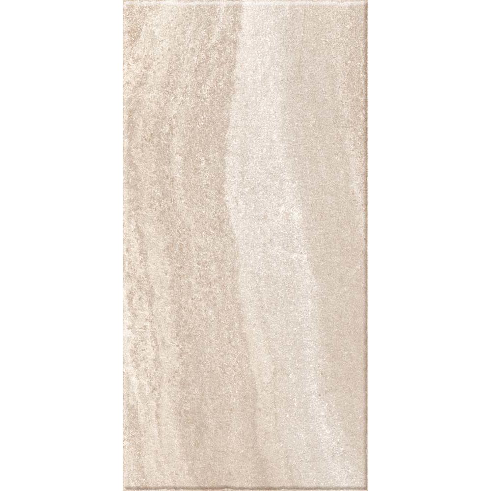 Gresie portelanata Kai Ceramics Santana bej, aspect de piatra, dreptunghiulara, 30 x 60 cm imagine MatHaus.ro