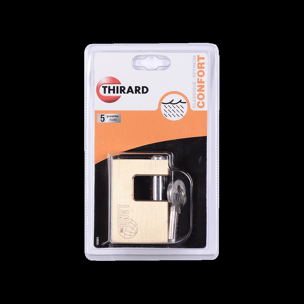 Lacat din otel, Thirard Land, l 70mm, 3 chei mathaus 2021