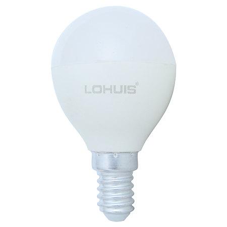 Bec LED Lohuis, sferic, E14, 8W, lumina alba