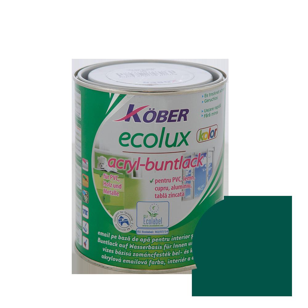Email Ecolux Kolor verde 0,75 L
