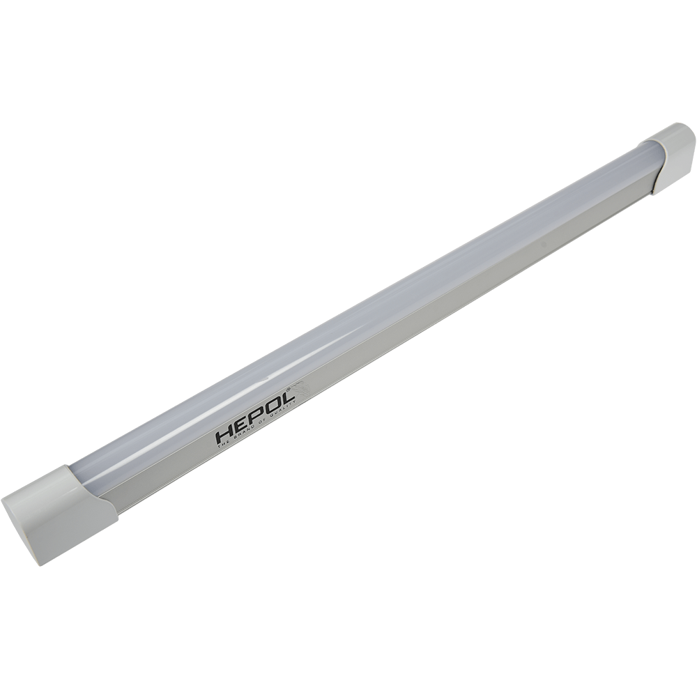 Corp LED Hepol T8, 20W, lumina rece, alb imagine MatHaus.ro