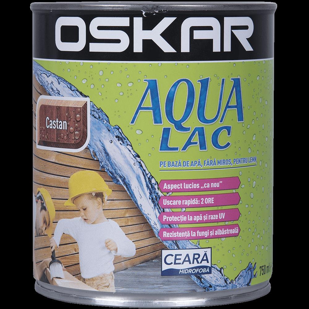 Lac Oskar Aqua castan 0,75 L