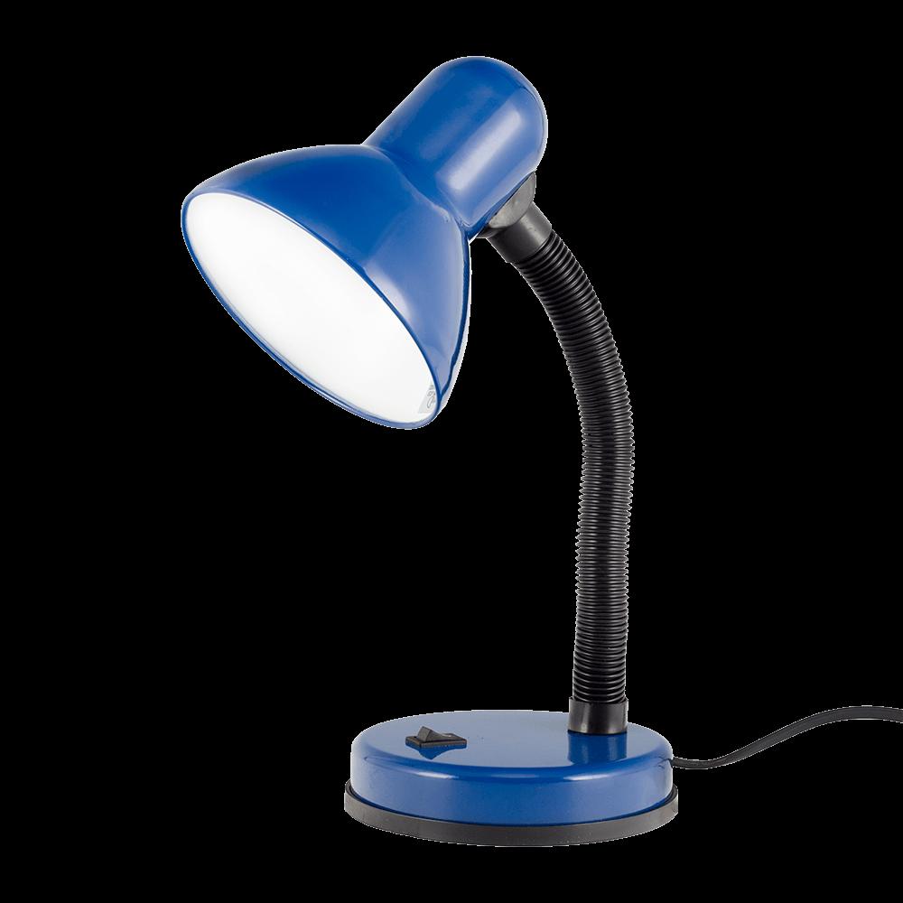 Lampa birou Klausen Harry KL2073, 1 x E27, albastru imagine 2021 mathaus