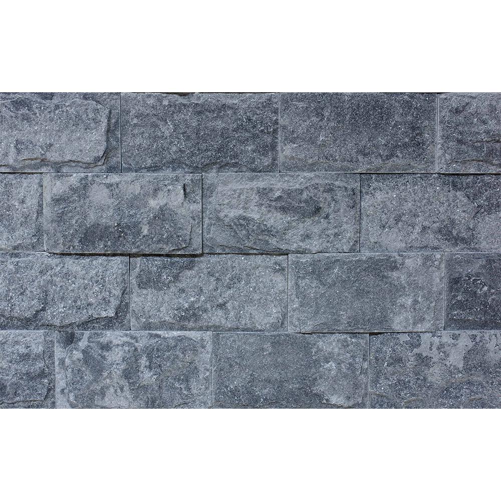 Piatra decorativa naturala Modulo Natimur Terra Grey, gri, interior/exterior, 20 x 10 cm imagine 2021 mathaus