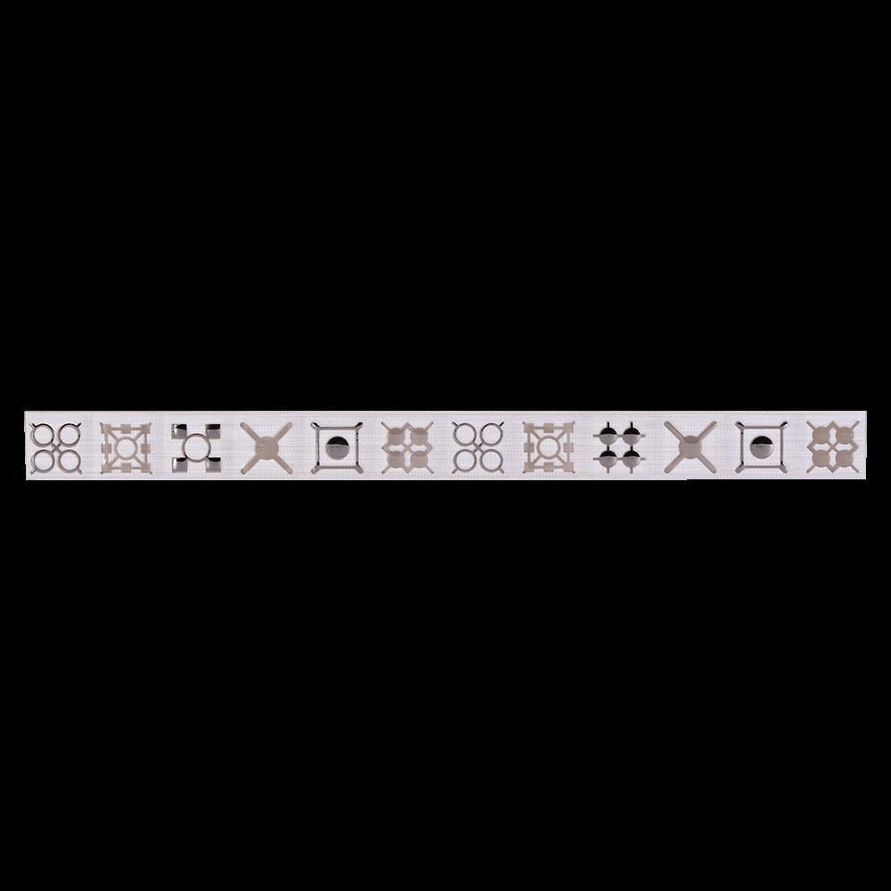 Brau pentru faianta Haiducul Calypso 7, alb, lucios, 3,25 x 40 cm