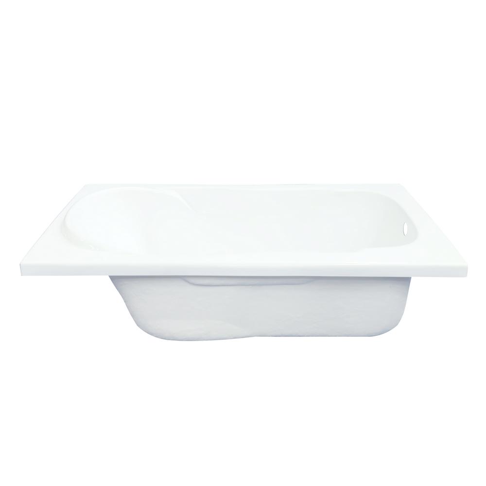 Cada baie Apolo, acril sanitar, alb, 140 x 75 x 38 cm