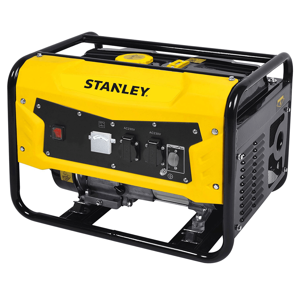 Generator curent electric Stanley SG3100-1, 3,1 kW, 2 x 230 V, capacitate rezervor 15 l imagine 2021 mathaus