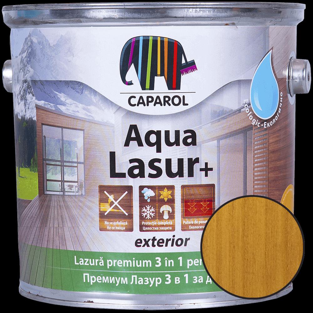 Lazura pentru lemn de exterior Caparol Aqua Lasur+ stejar, 2,5l imagine 2021 mathaus