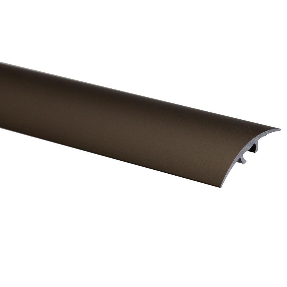 Profil de trecere cu surub mascat S66, fara diferenta de nivel Effector bronz, 2,7 m
