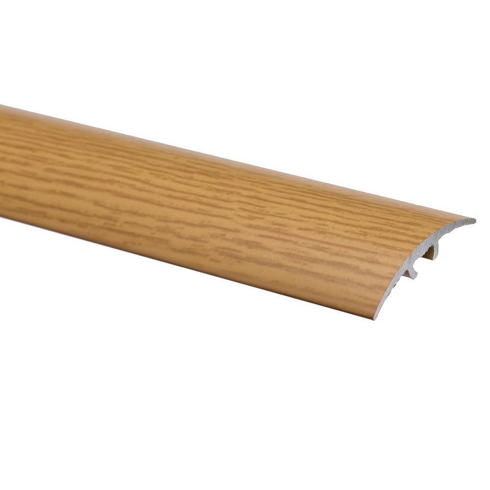 Profil de trecere cu surub mascat S66 fara diferenta de nivel Effector stejar, 2,7 m imagine MatHaus.ro