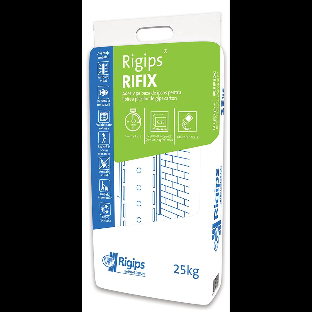 Adeziv gips-carton Rigips Rifix, 25 kg imagine MatHaus