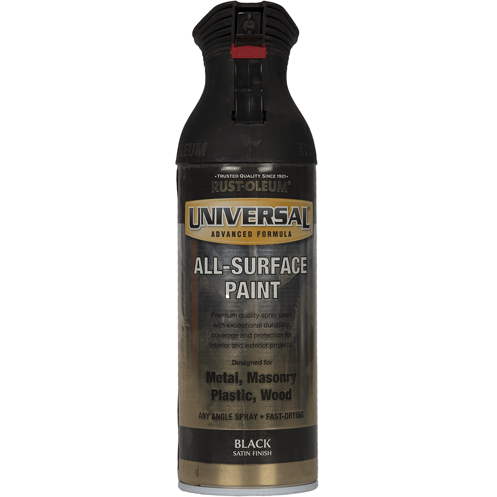 Spray Universal all-surface satin negru 400 ml mathaus 2021