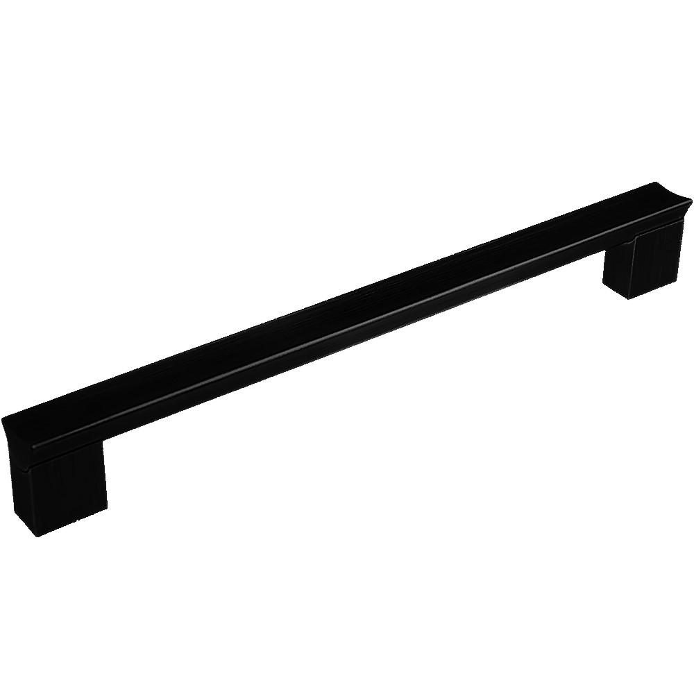 Maner aluminiu AA627 192 mm, negru anodizat