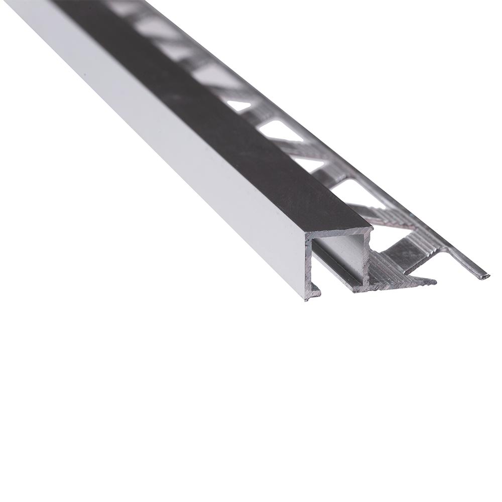 Profil de terminatie pentru parchet Set Prod S88 aluminiu, argintiu, 10 mm