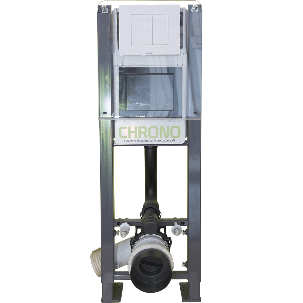 Rezervor apa, incastrat, Wirquin Chrono, placa alba imagine 2021 mathaus