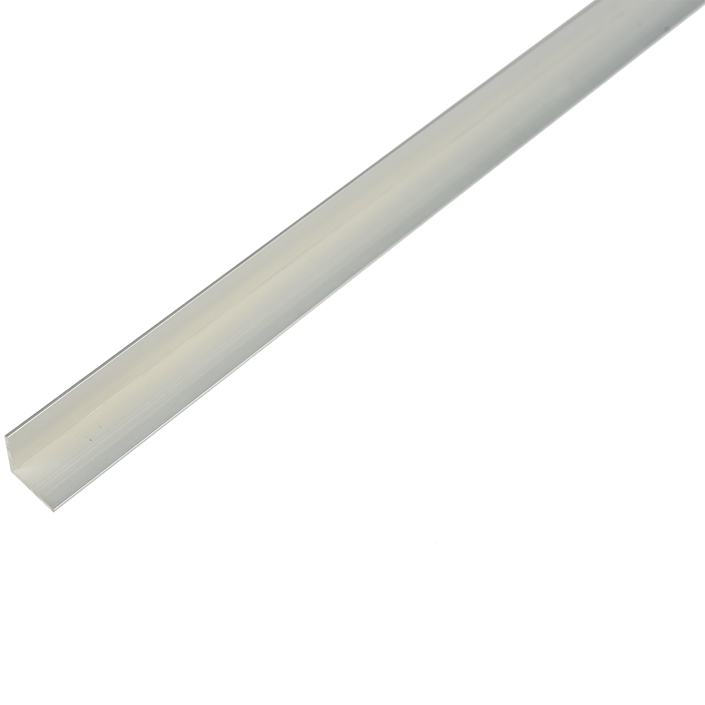 Cornier laturi egale, aluminiu, 15 x 15 x 1 mm, L 2 m imagine 2021 mathaus
