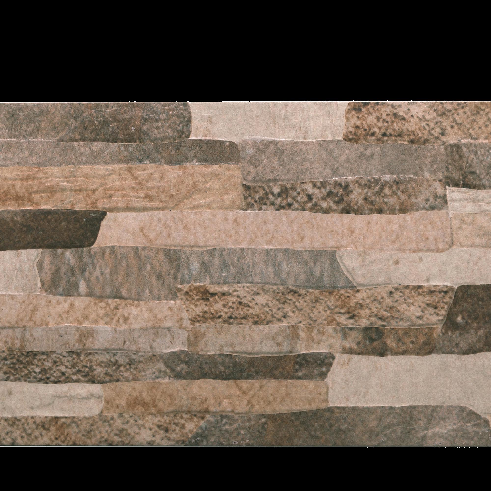 Placa portelanata Quarry Arena 21 x 56 cm, model digital imagine MatHaus