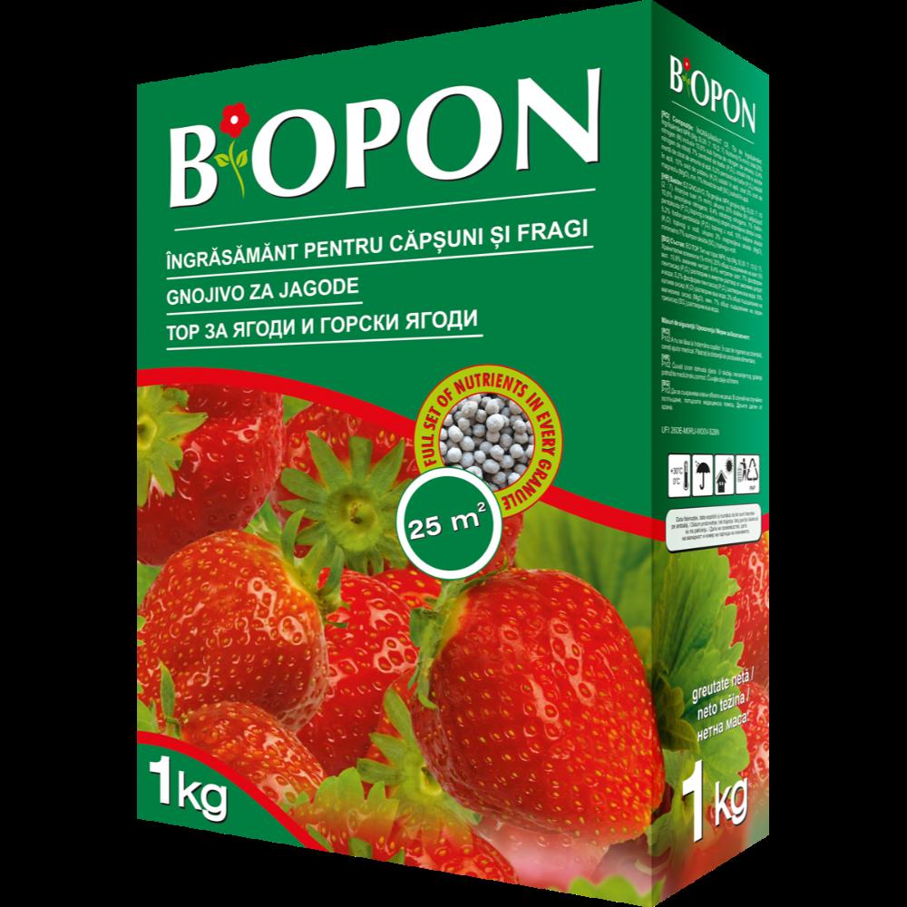 Ingrasamant Biopon pentru capsuni si fragi, 1 kg
