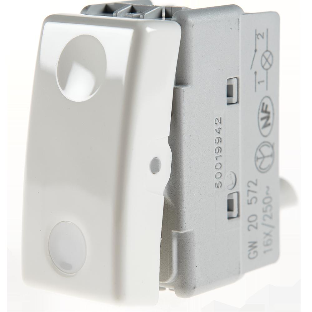 Intrerupator cu LED, Gewiss, GW20572 imagine MatHaus.ro