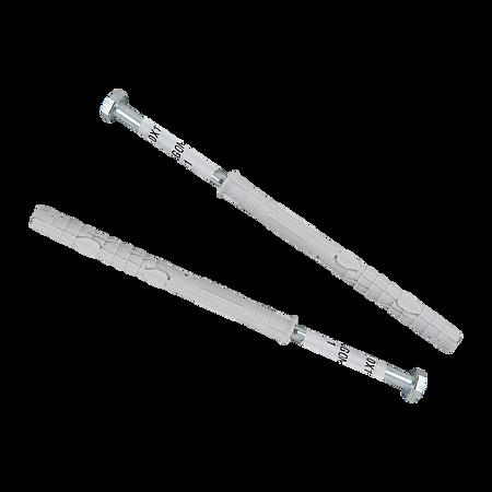 Diblu universal, nylon, cu surub cap hexagonal, 10 x 120 mm