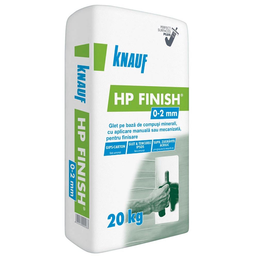 Glet de finisaj pentru interior Knauf Finish Plus, 20 kg