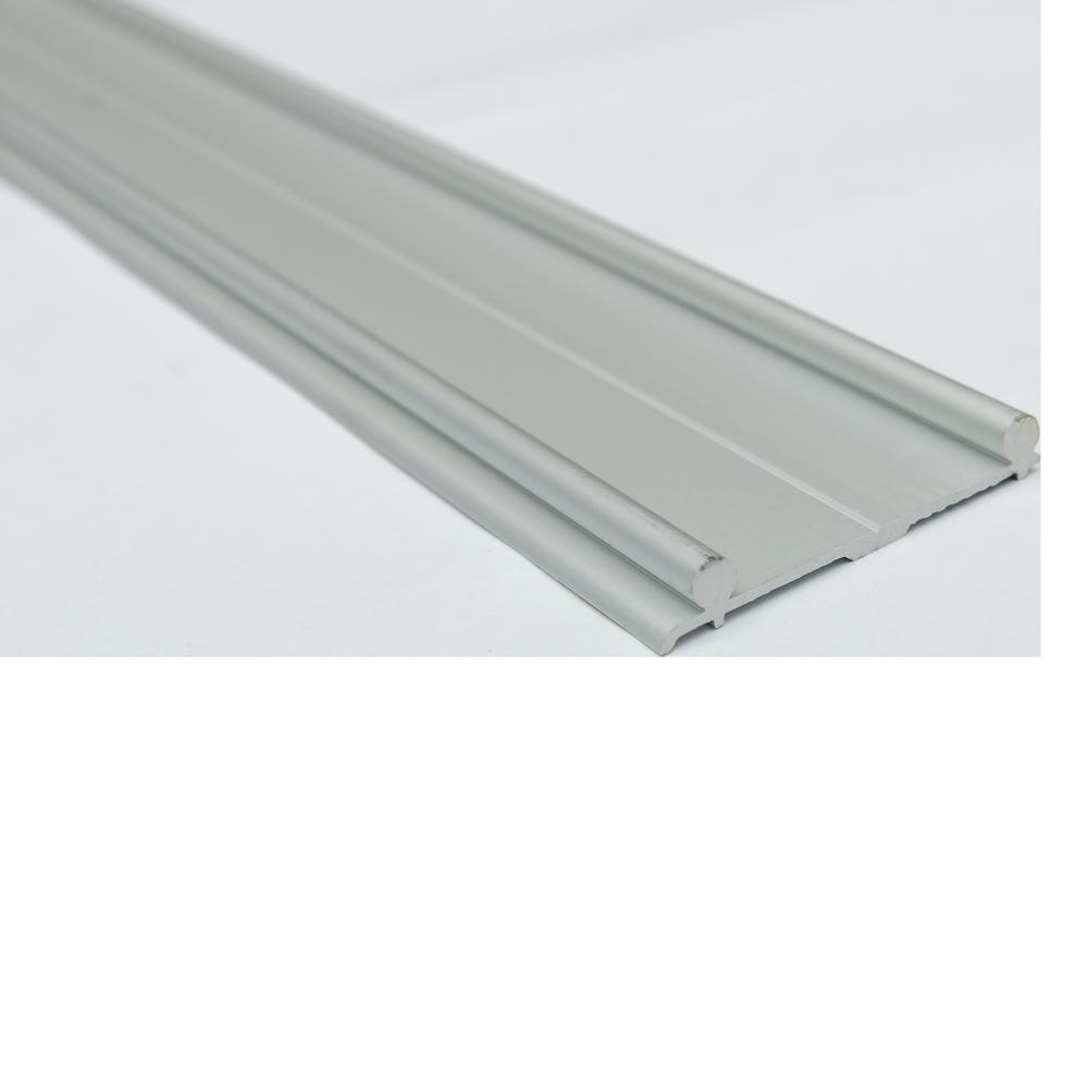 Profil de rulare dublu pentru sistemul SCL 80 AY, lungime 3 m, latime 44 mm, material aluminiu imagine 2021 mathaus