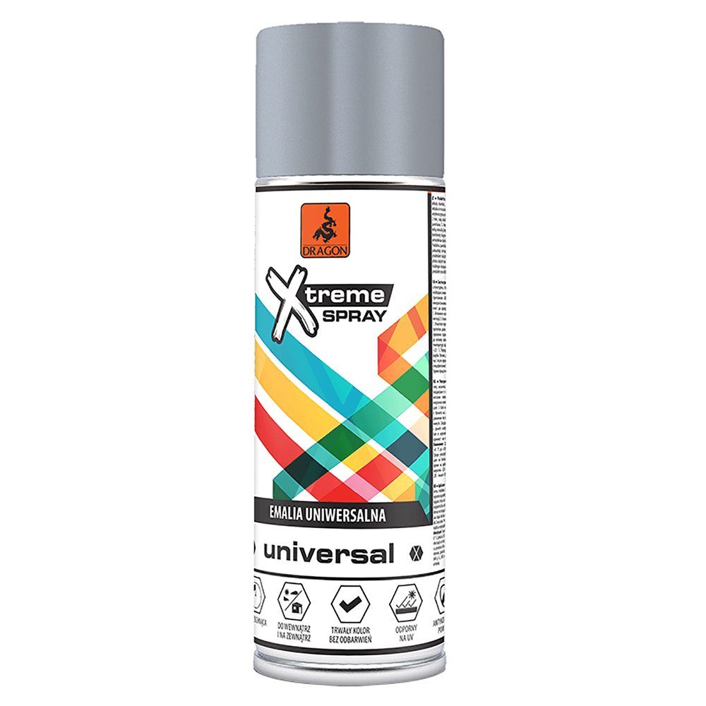 Vopsea spray universala X-Treme, argintiu-crom RAL 9006, 400 ml imagine 2021 mathaus