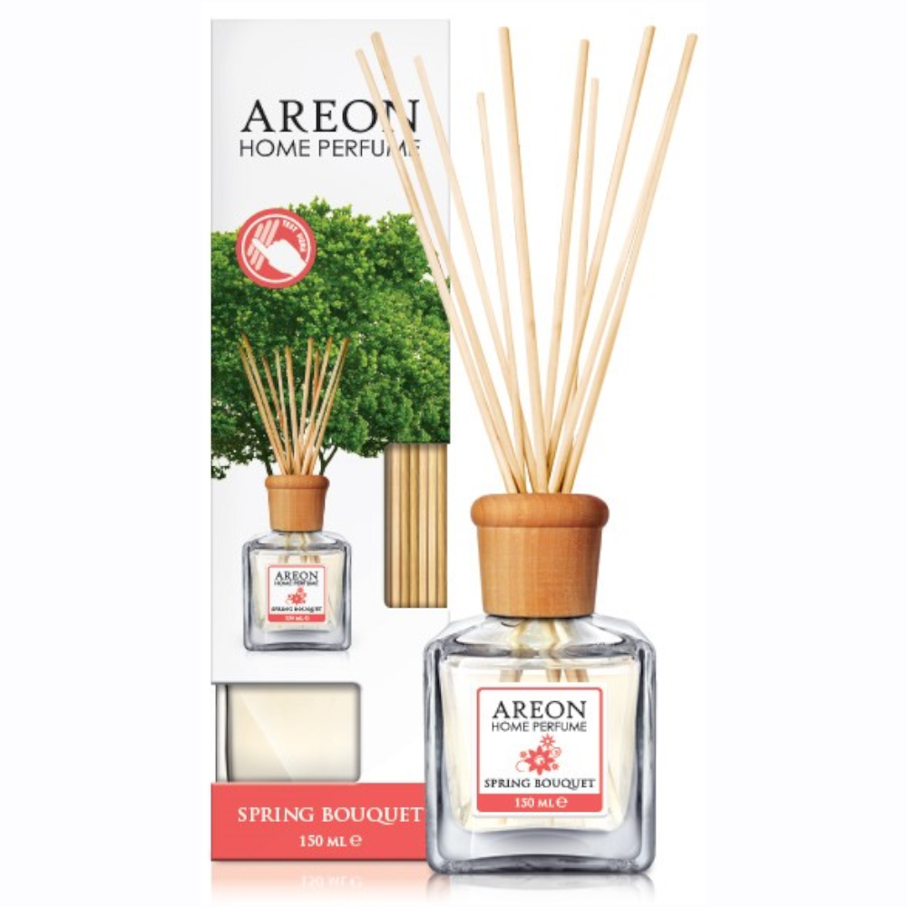 Odorizant cu betisoare Areon Home Perfume, Spring Bouquet, 150 ml mathaus 2021