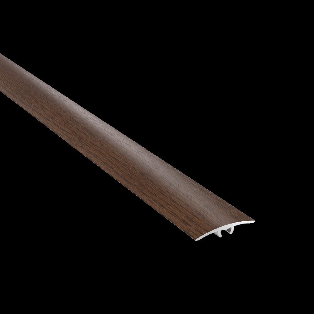 Profil de dilatatie din aluminiu SM1 Decora stejar afumat, 186 cm imagine MatHaus.ro