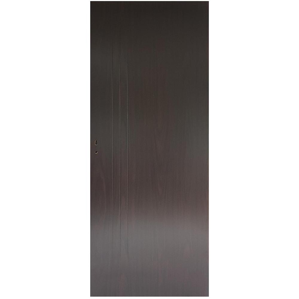 Usa plina interior, Pamate M050, wenge, 203 x 60 x 3,5 cm + toc reglabil, reversibila