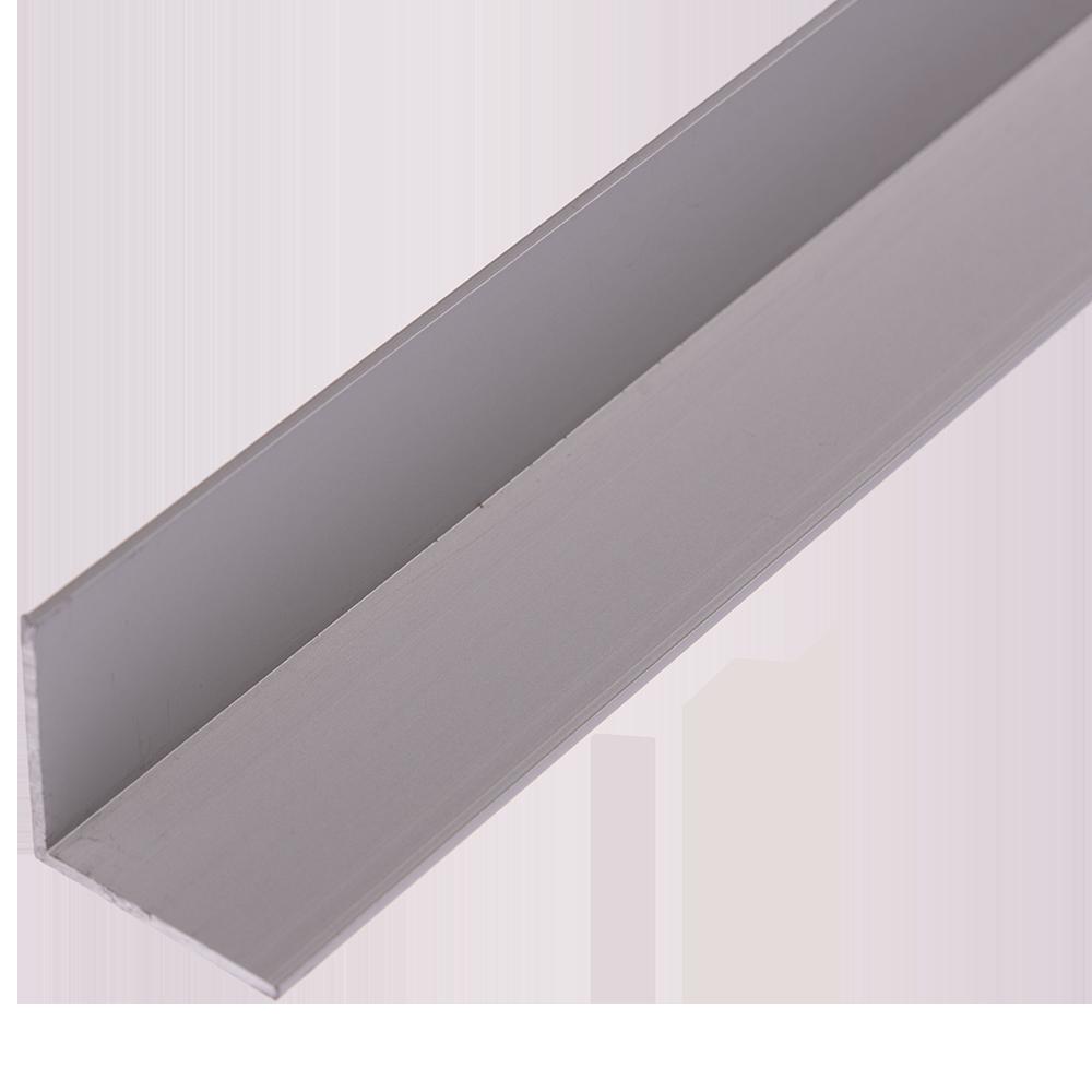 Cornier laturi egale, aluminiu, 25 x  25 x 1,5 mm, L 1 m imagine 2021 mathaus