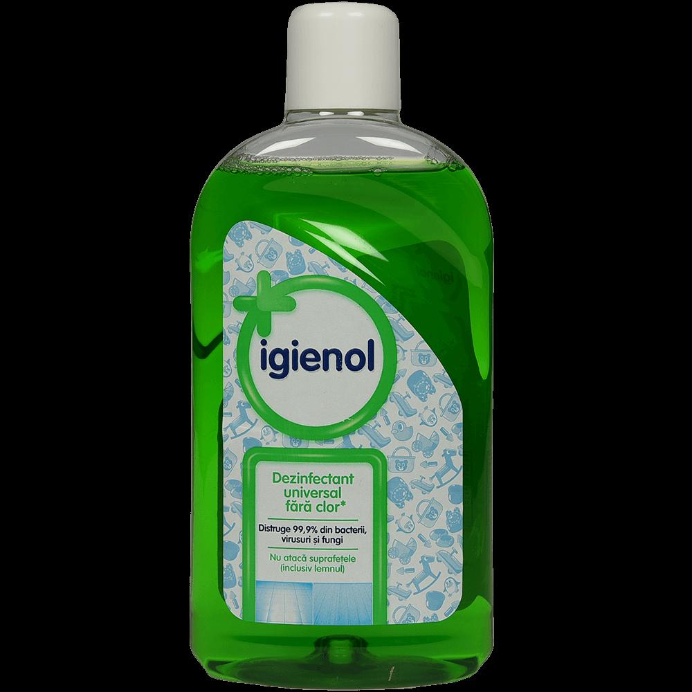 Dezinfectant universal fara clor Igienol Pine Fresh, 1 Litru imagine MatHaus.ro