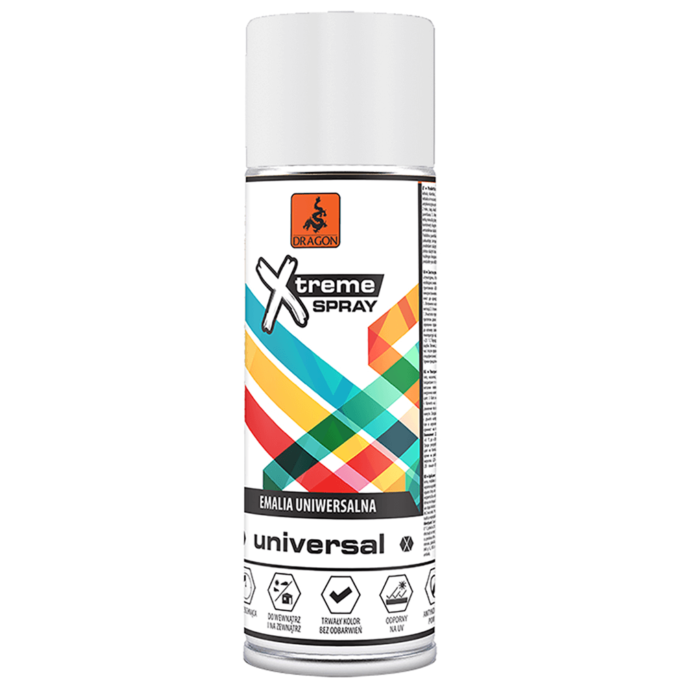 Vopsea spray universala X-Treme, alb RAL 9003, 400 ml imagine 2021 mathaus
