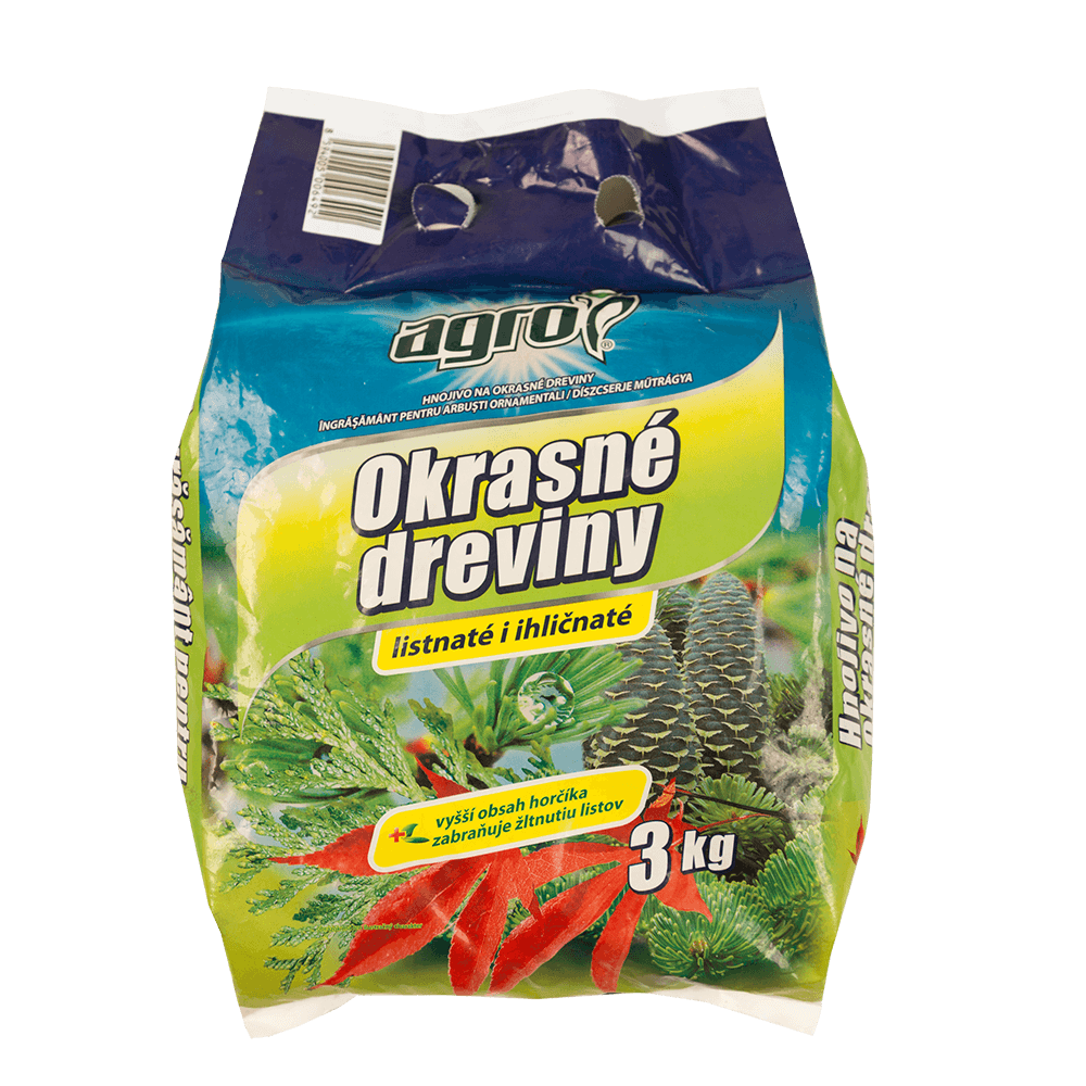 Ingrasamant granulat pentru arbusti decorativi Agro, 3 kg