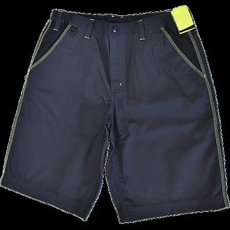 Pantalonii scurti pentru protectie Knoxfield, bumbac + poliester, marimea 50, gri / galben