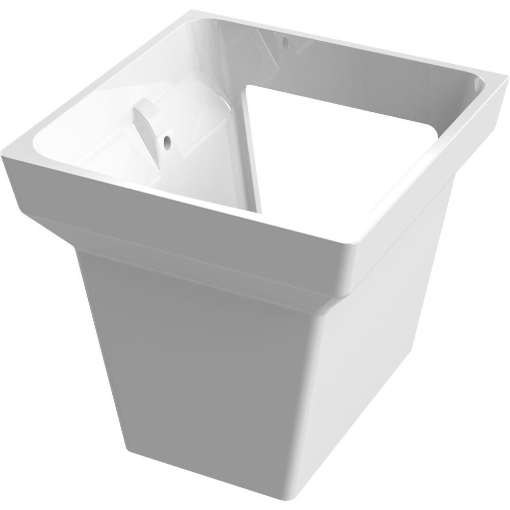 Semipiedestal Menuet Bella, portelan, alb, 260 mm imagine 2021 mathaus