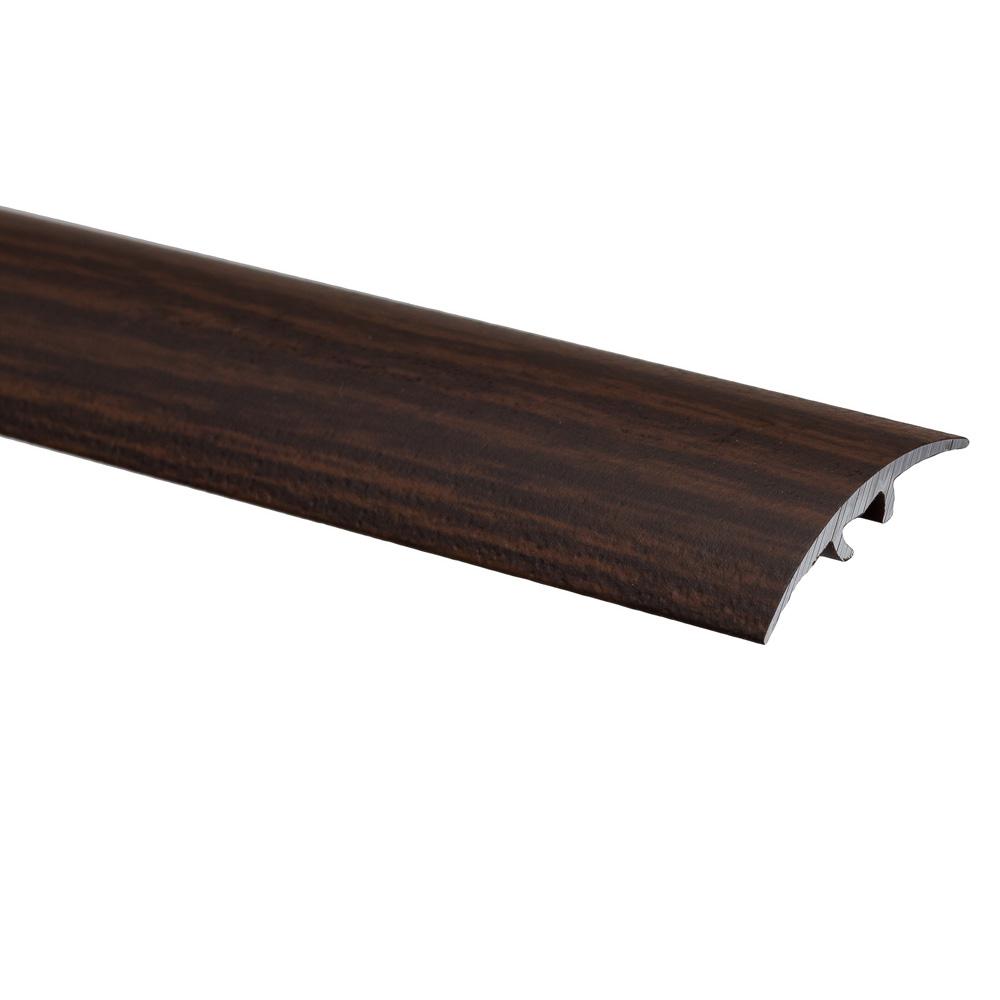 Profil de trecere cu surub mascat S66 fara diferenta de nivel Effector wenge, 2,7 m imagine MatHaus.ro