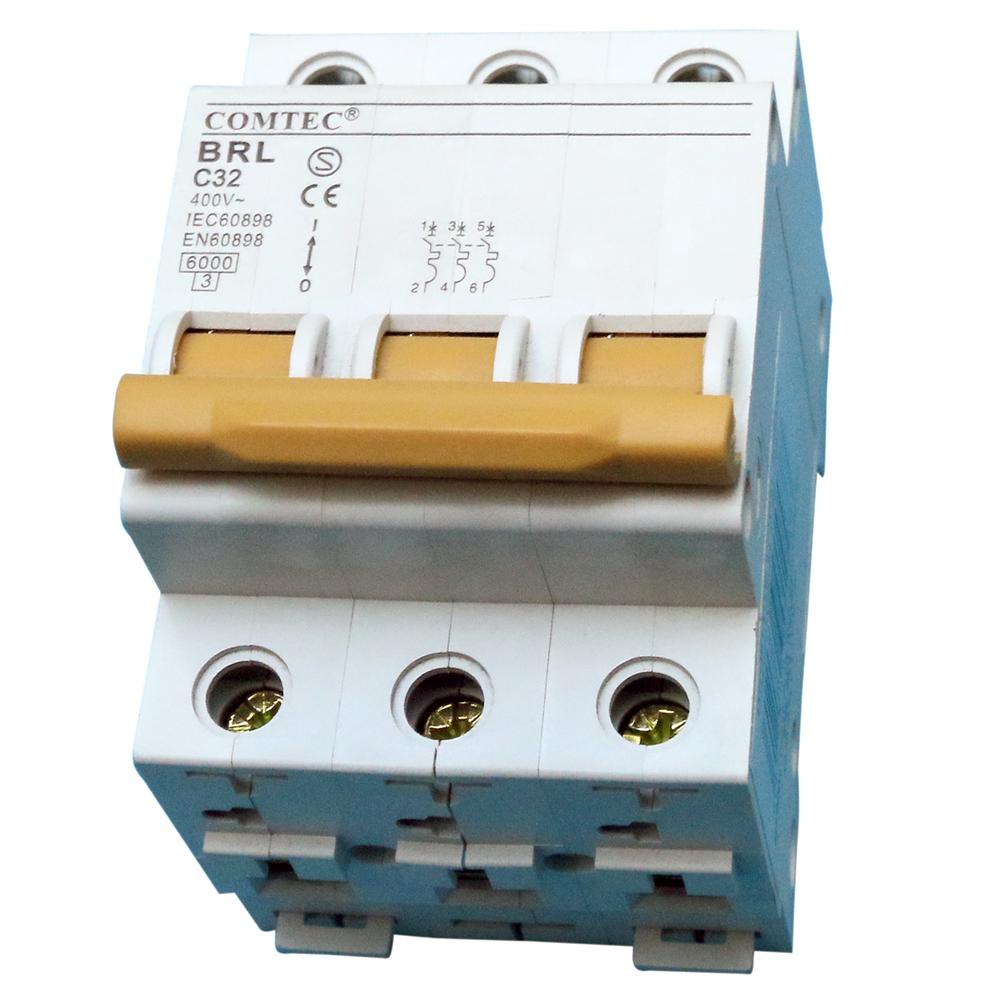Intrerupator automat MCB 6Ka 32/3/C Comtec imagine MatHaus.ro