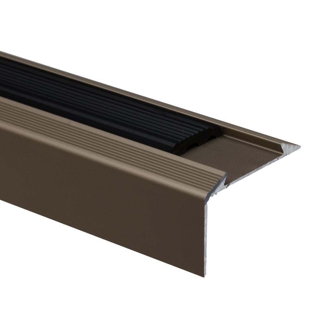 Profil pentru treapta cu banda antiderapanta S38, Set Prod, sampanie, 46 mm x 0,93 m imagine 2021 mathaus